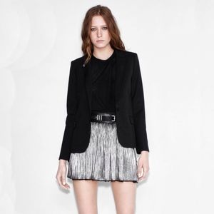 Zadig and Voltaire Pleated Mini Skirt